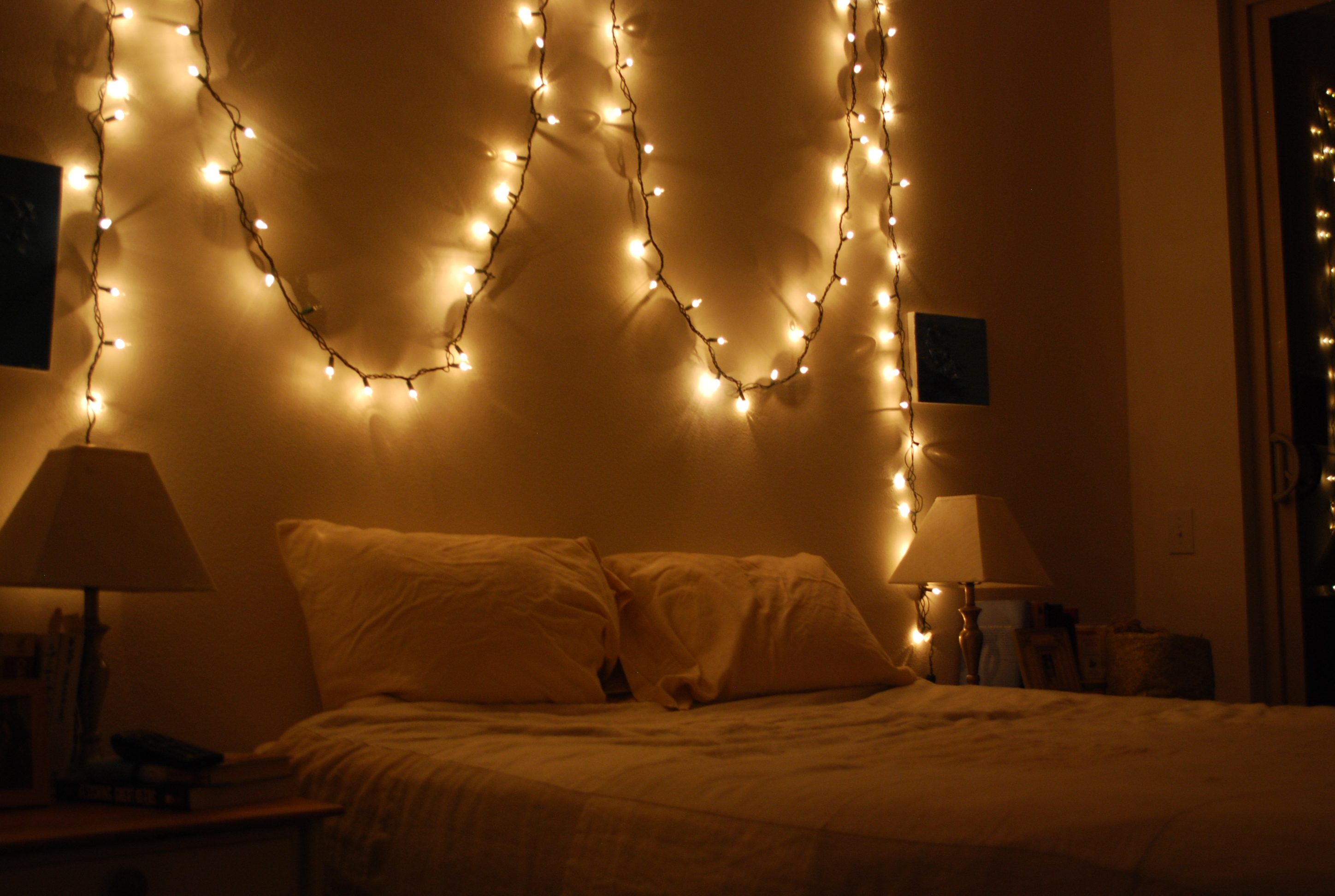 bedroom on pinterest christmas lights christmas lights in bedroom