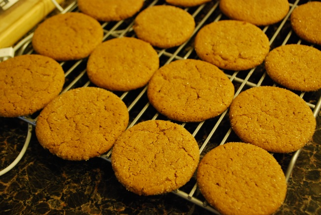 molasses cookies 1
