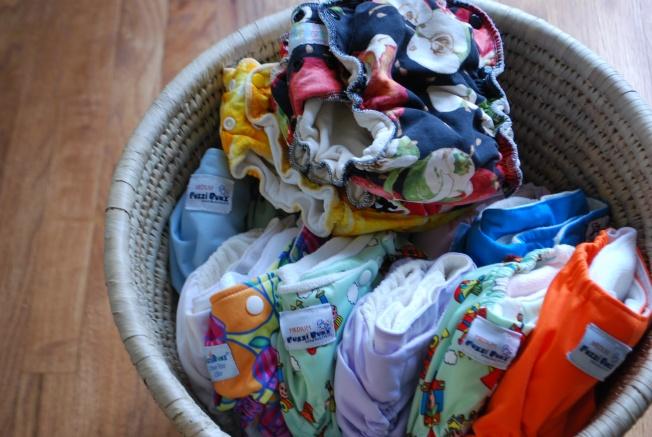 diaper laundry