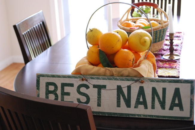 best nana sign