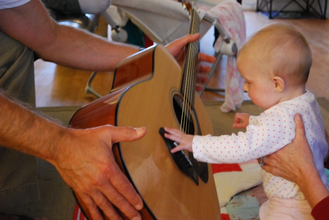 exploring the guitar