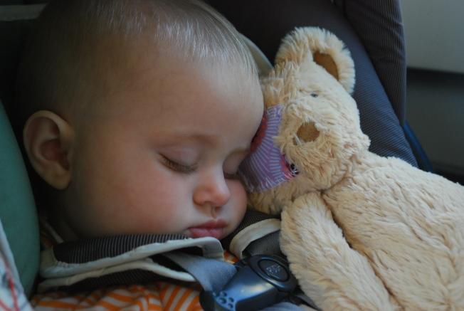 boo bear sleeps!