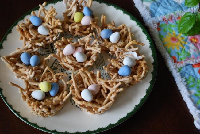 birds nest dessert