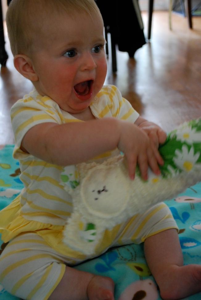 ellie likes her toys
