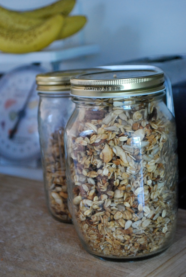 weekly granola
