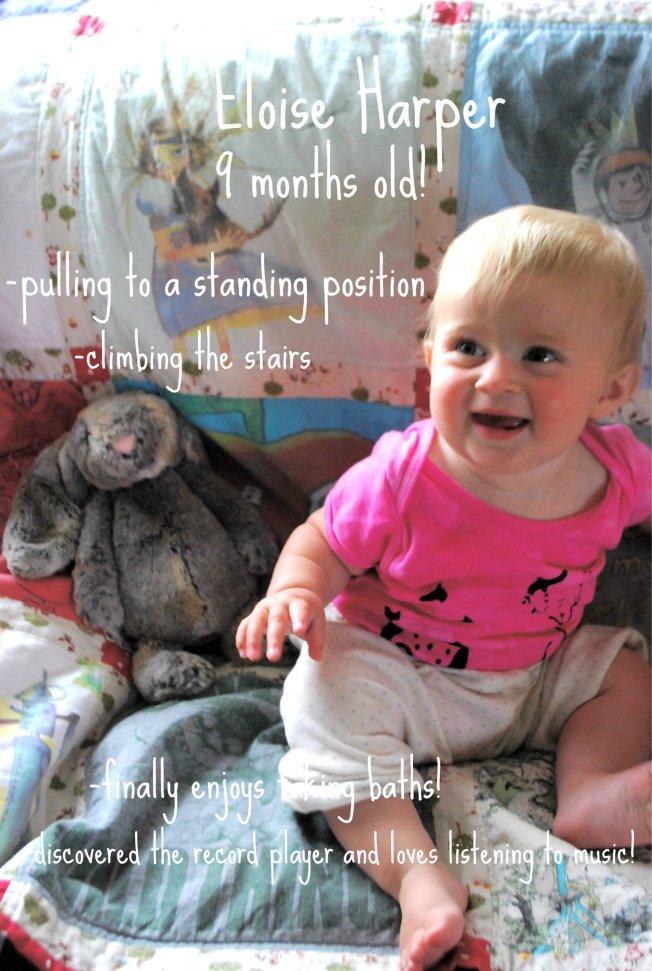 Ellie 9 months