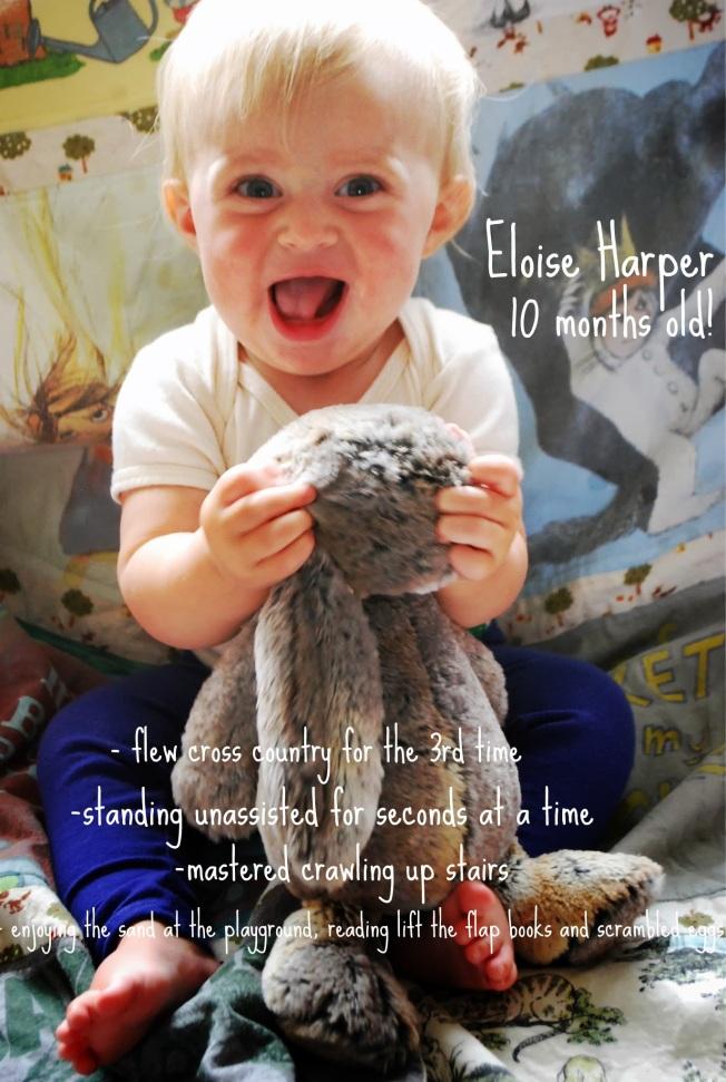10 month ellie
