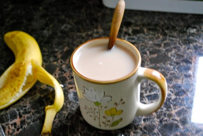 tea and banana