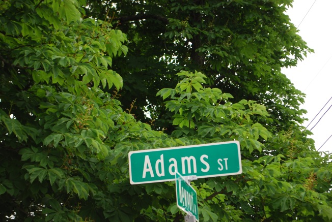 adams st sign
