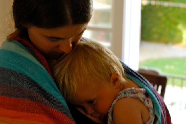 nursing in the sling