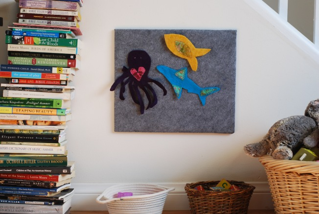 a felt board for Ellie