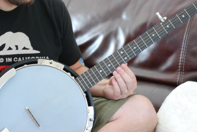we brought home a banjo