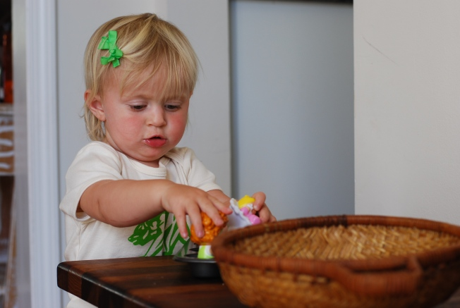 honing her craft of play