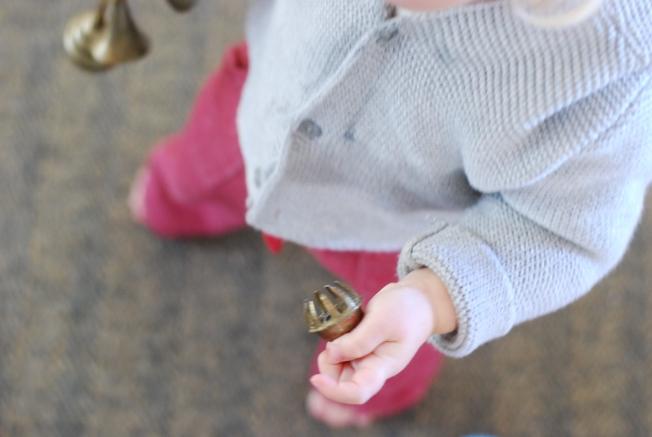 holding bells
