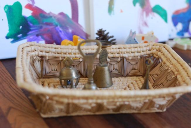 bells in a basket