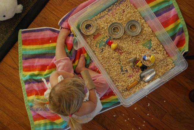 oatmeal play