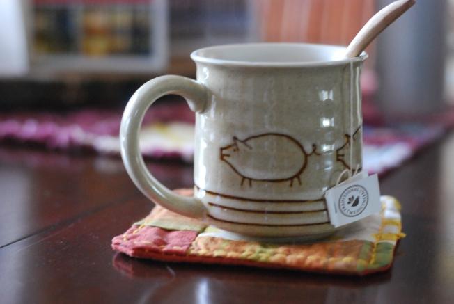 pig tea