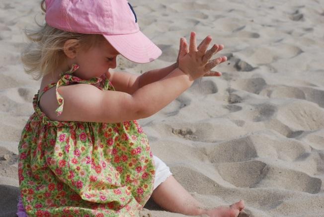 sand play!