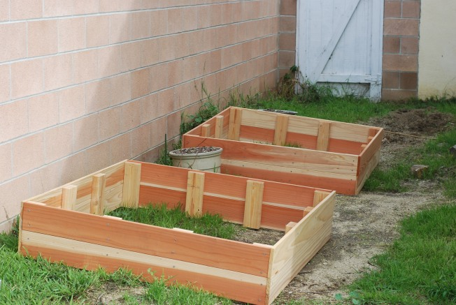getting the garden ready
