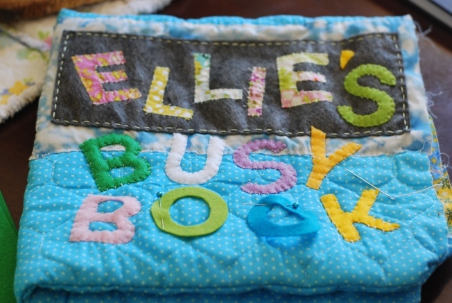 ellies busy book