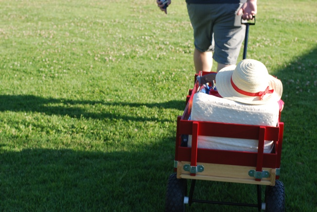 wagon to the park