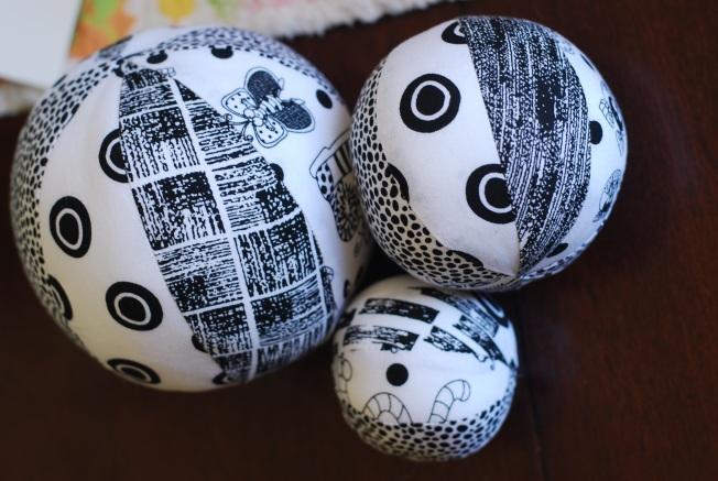 fabric balls boy
