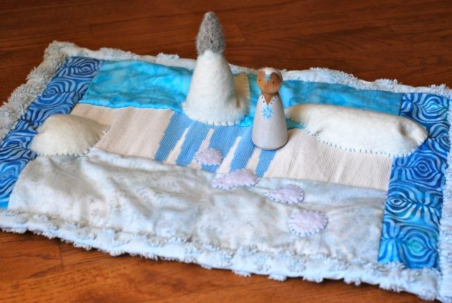 Snow Queen mat