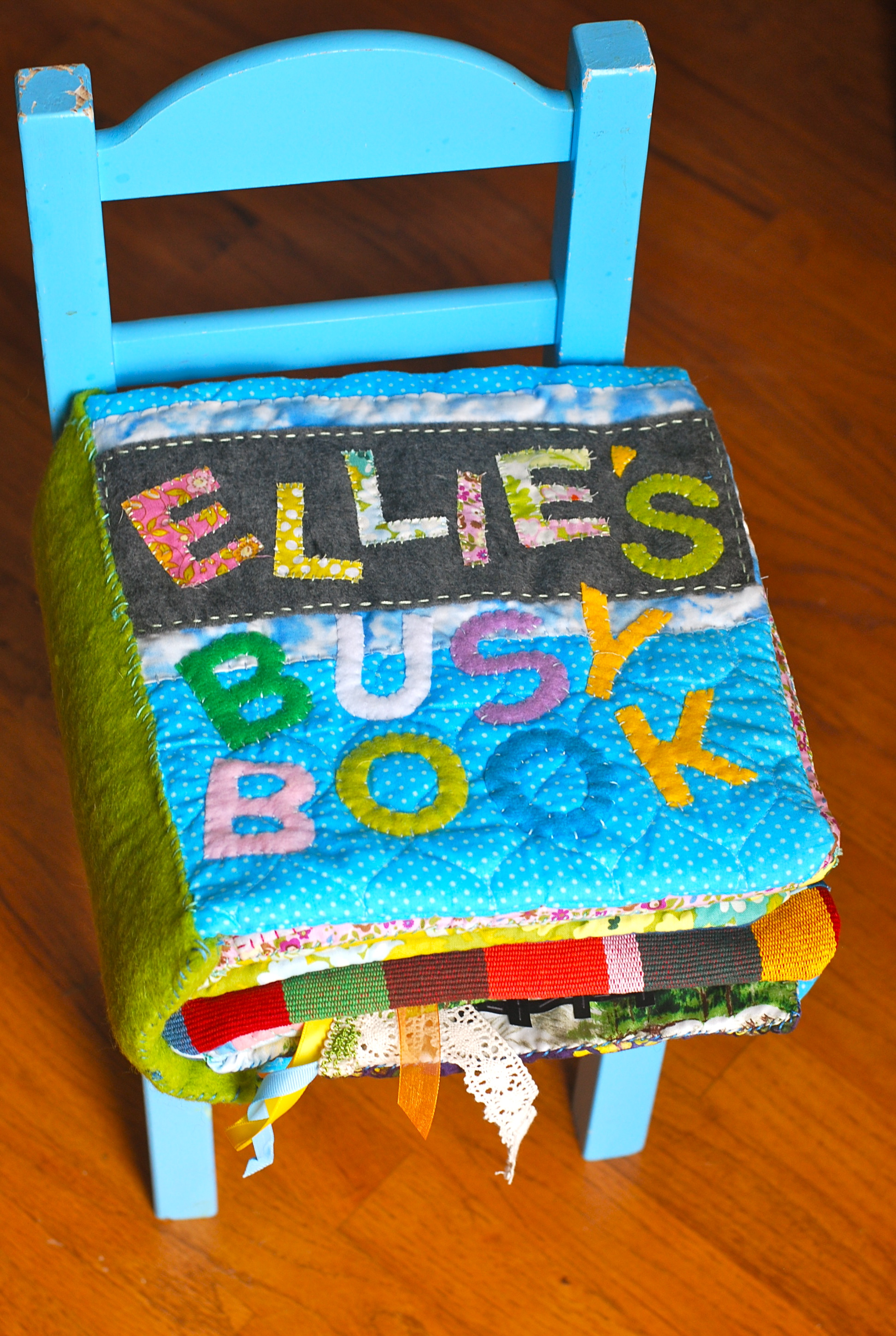 how to make a busy book