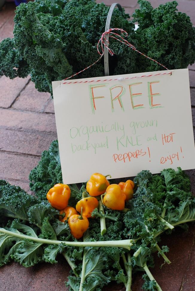 free kale