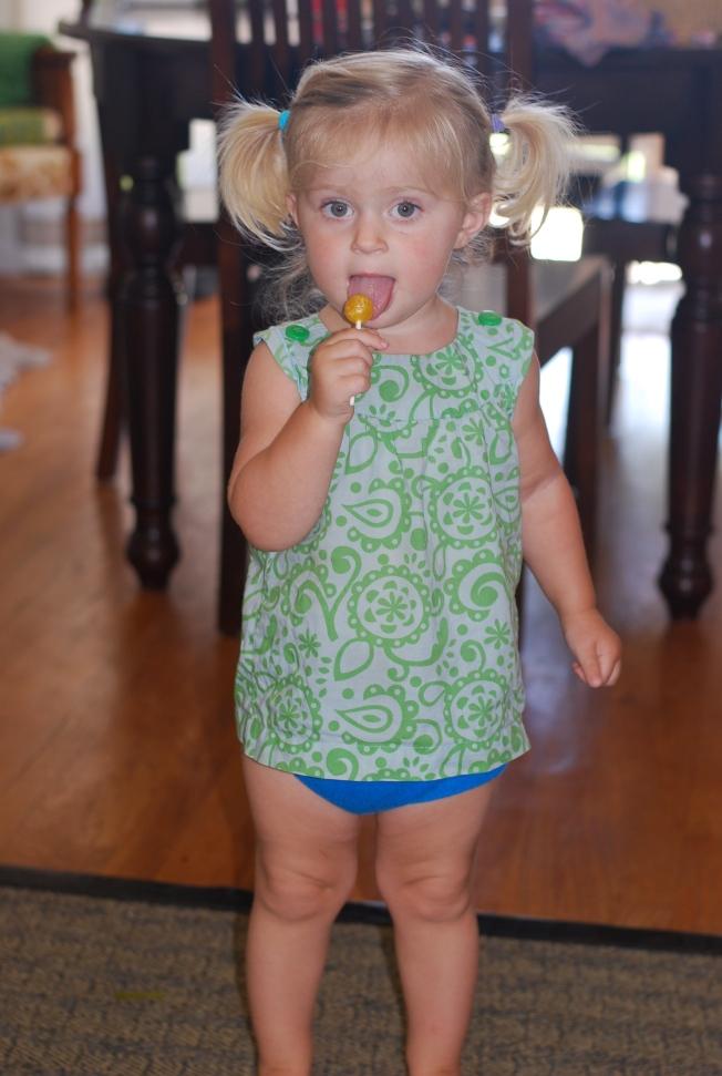 first lollipop
