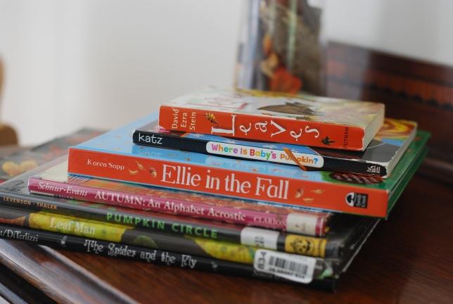 autumn books for E