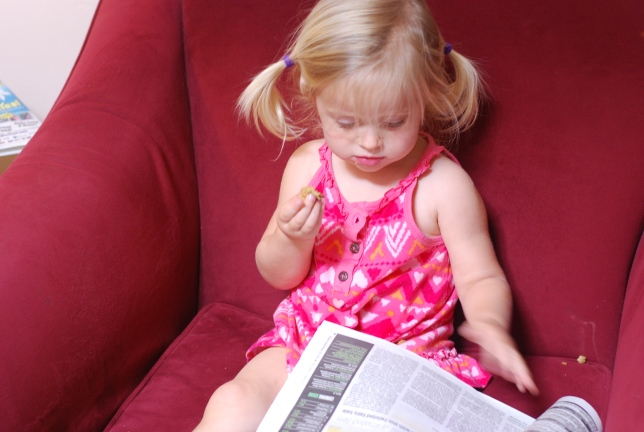 reading the papwer