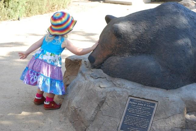 pat the bear