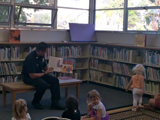 fireman reads