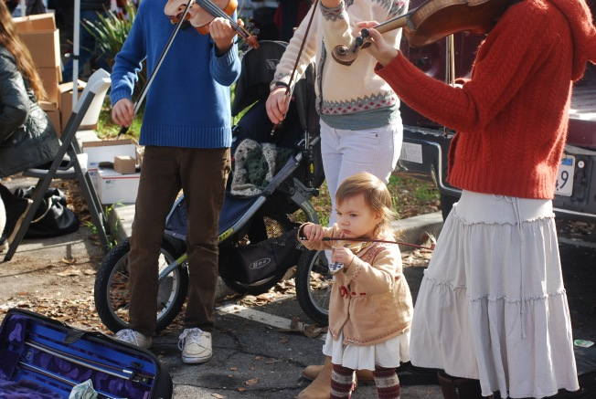 baby violinist