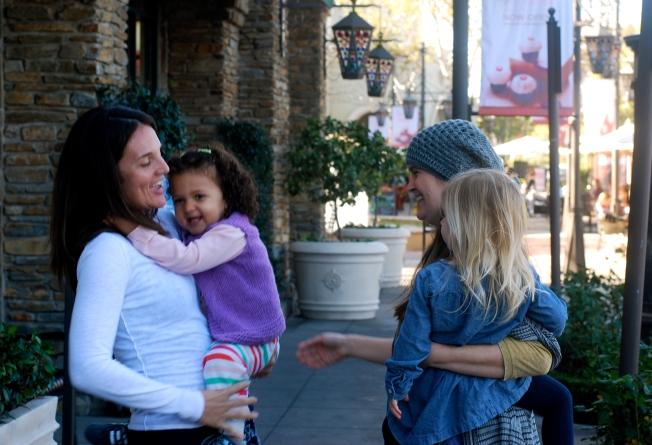 meeting sarah and lu