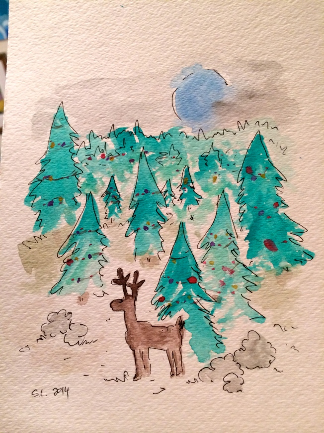 reindeer art